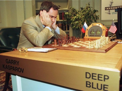 A machine is about to do to cancer treatment what 'Deep Blue' did to Garry Kasparov in chess