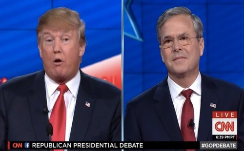 Jeb and Trump go at it again: 'Donald, you're not going to be able to insult your way to the presidency'