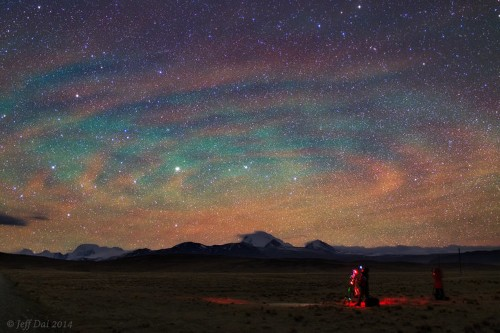 Look At The Incredible Celestial Phenomenon Called 'Airglow'