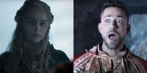 Zachary Levi betrays Daenerys in 'Game of Thrones' spoof at the MTV Movie and TV Awards