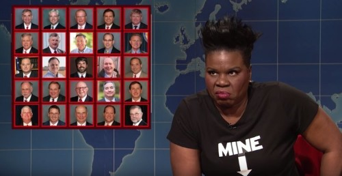 Leslie Jones slams all-male legislators who signed Alabama abortion law