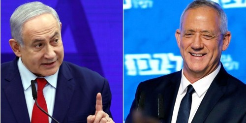Netanyahu's grip on power slips after Arab parties endorse his rival for Israeli prime minister