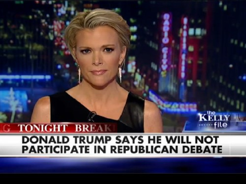 Watch Megyn Kelly address Donald Trump's debate boycott during a remarkable segment of her show