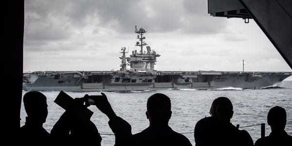 With China gunning for aircraft carriers, US Navy says it has to change how it fights - Business Insider