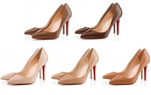 Christian Louboutin Redefines The Color 'Nude' In His Latest Shoe Collection