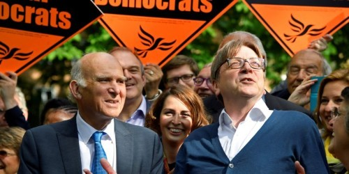 Change UK mocked for 'folly' of rejecting alliance with the Lib Dems