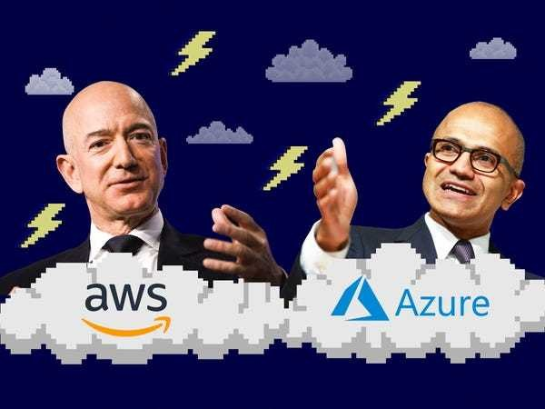 Can Microsoft topple Amazon as the top cloud? Here's what partners say - Business Insider