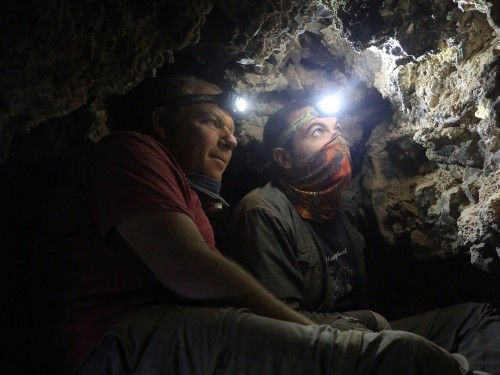 Photos of Dead Sea Scrolls cave expedition in Qumran cliffs