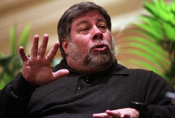 Apple co-founder Steve Wozniak reveals his one philosophy on work and life - Business Insider