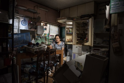 Haunting photos show a ghost town destroyed by nuclear disaster Fukushima, and the residents who dared to go back