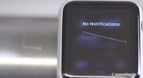 It looks like the Apple Watch's screen is nearly indestructible