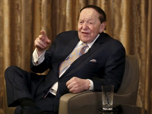 Here's what Donald Trump and billionaire Sheldon Adelson talked about in their meeting this week