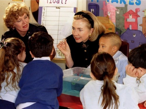 Hillary Clinton schooled a bunch of experts on diarrhea science