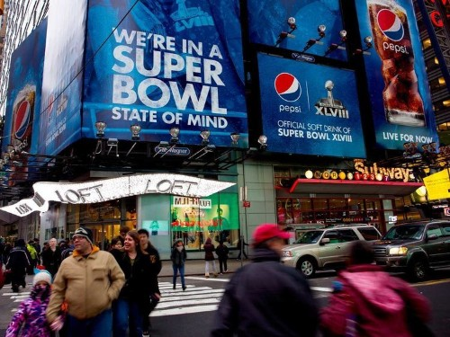 The NFL Installed A Bunch Of iBeacons In New York City For The Super Bowl