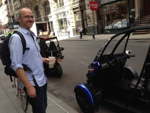 We checked out Arcimoto's $12,000 electric trike — here's what it was like