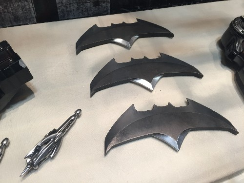 There are 'Batman v Superman' props on display at Comic-Con and they look amazing