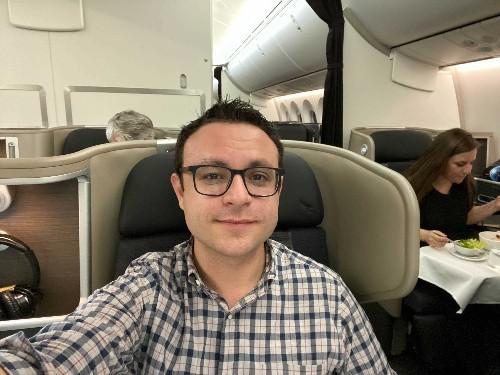 Longest flight New York to Sydney on Qantas business class review - Business Insider