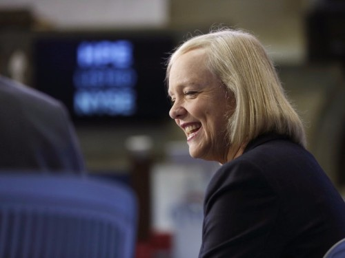 Meg Whitman is doling out $100 million to startups this year through quarterly 'coffees with Meg'