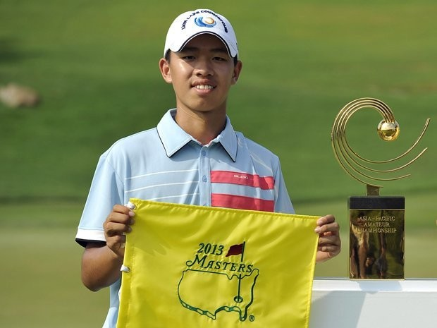 Meet The 14-Year-Old Chinese Phenom Who Outplayed The Pros At The Masters