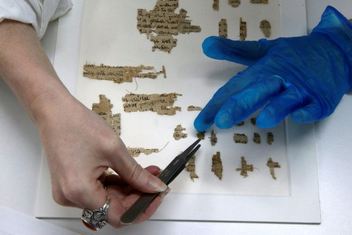 Israel says fragment of ancient papyrus supports its claim to Jerusalem