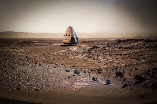 Stunning images reveal SpaceX's revolutionary approach to landing on Mars