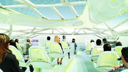 Airbus Wants To Revolutionise The Future Of Flying With A UFO-Shaped Plane