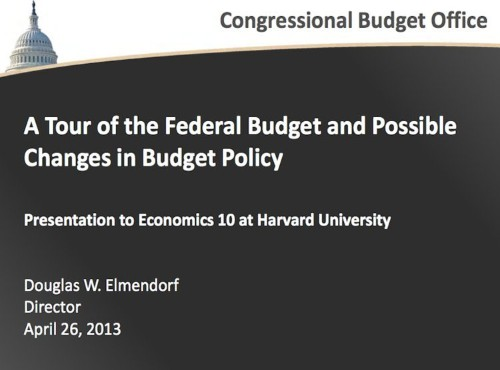These Slides Show Why We Have Such A Huge Budget Deficit And Why Taxes Need To Go Up