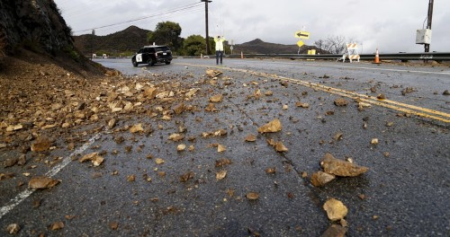 The first major El Niño storm of the season just hammered the US