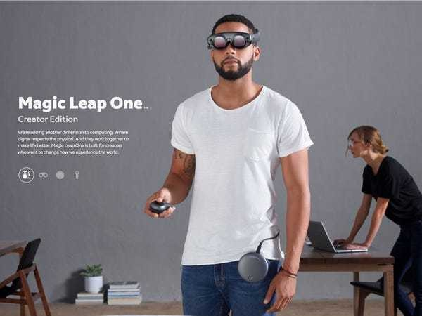 Augmented reality startup Magic Leap is raising even more money - Business Insider