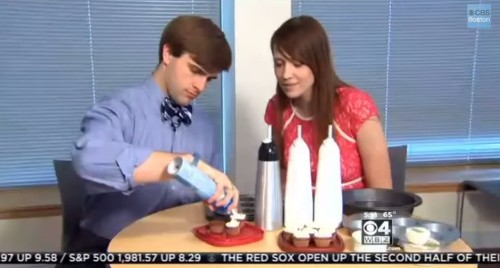 Harvard Students Just Invented Microwavable 'Spray Cake In A Can'