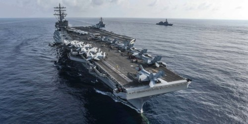 China warned the US to steer clear of Taiwan, but the US Navy says its ready to send an aircraft carrier through the strait anyway