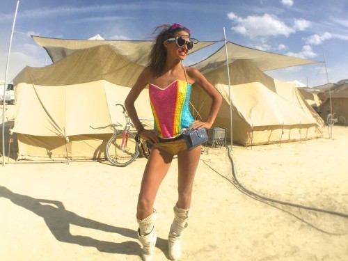 Here's what the inside of Burning Man's luxury camps for billionaires and celebrities looks like