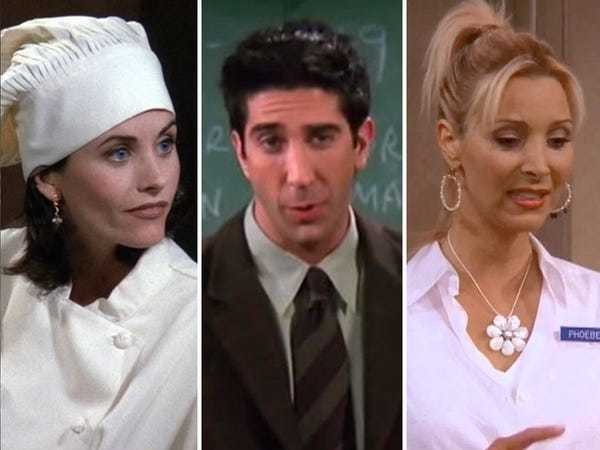 Every job the characters on 'Friends' had, and what it's really like to do them - Business Insider