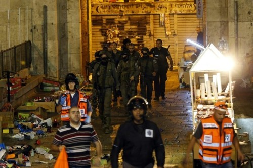 Israel bars Palestinians from Jerusalem Old City for 2 days