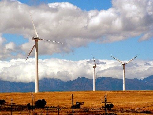 Here's how much of the US would need to be covered in wind turbines to power the nation