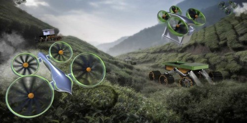 These Drone Concepts Could Save People From Burning Buildings And Avalanches
