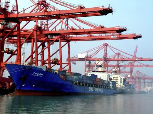 Shipping costs are another bad sign for the Chinese economy
