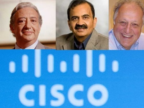 Why Cisco Has Showered These 3 Men With Billions Of Dollars