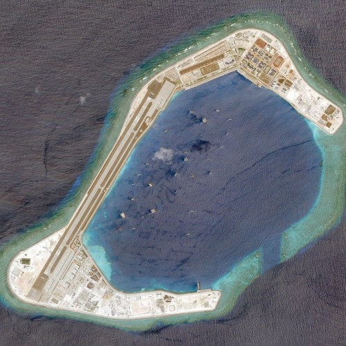 China is not even pretending anymore in the South China Sea — it put 400 buildings on one of the disputed islands
