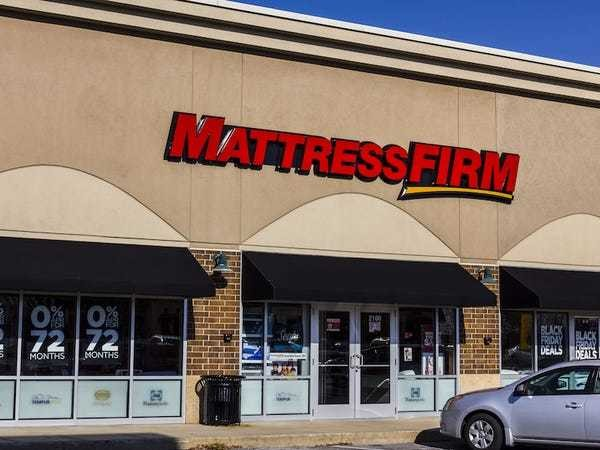 Mattress Firm conspiracy theory grows after accounting problems - Business Insider