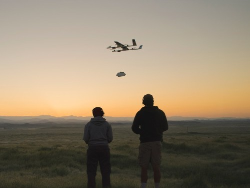 Google X 'Wing Marketplace' lets you order food via drones