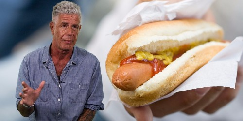 Here's what you should eat when you travel to New York — according to Anthony Bourdain