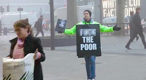 A British Charity Is Raising Money For The Poor By Insulting Them
