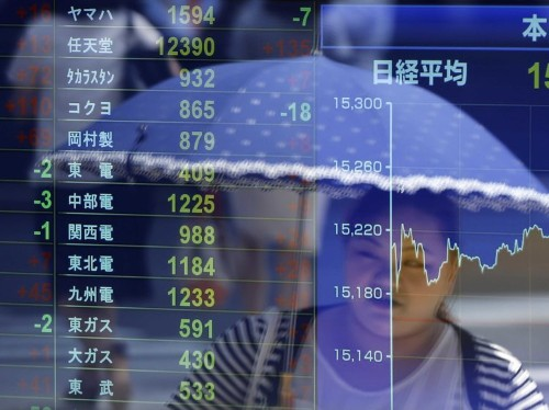 Markets Are Down In Asia