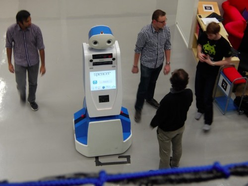 One airline is trying to solve airport confusion with robots