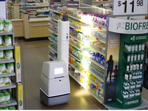 Walmart reveals why it has robots roaming the aisles in 50 of its stores - Business Insider