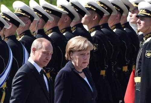 Merkel says 'still no ceasefire' in east Ukraine