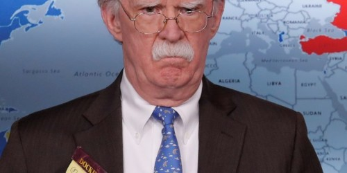 Bolton's notepad reveals Trump is considering sending 5,000 troops to Colombia amid Venezuela crisis