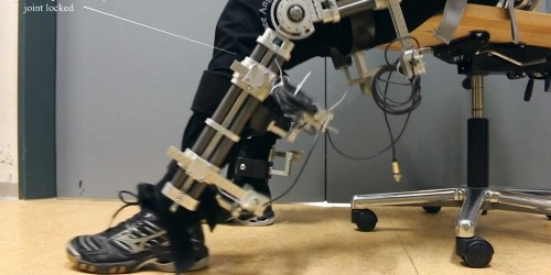 This new exoskeleton helps people with paralysis move more — even climb stairs