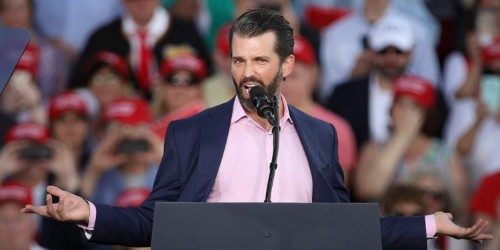 Donald Trump Jr. accuses the left of 'trying to normalize' sex work